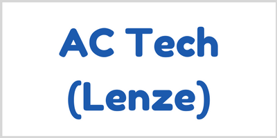 We are distributors of Lenze AC Tech: AC Inverter / Variable Speed / DC Drive