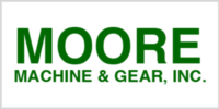 Moore Gear logo - Linear Products, Gearmotor & Gearbox